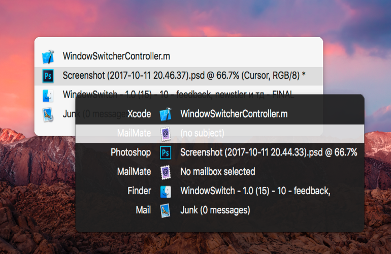 Windows Switcher for Mac