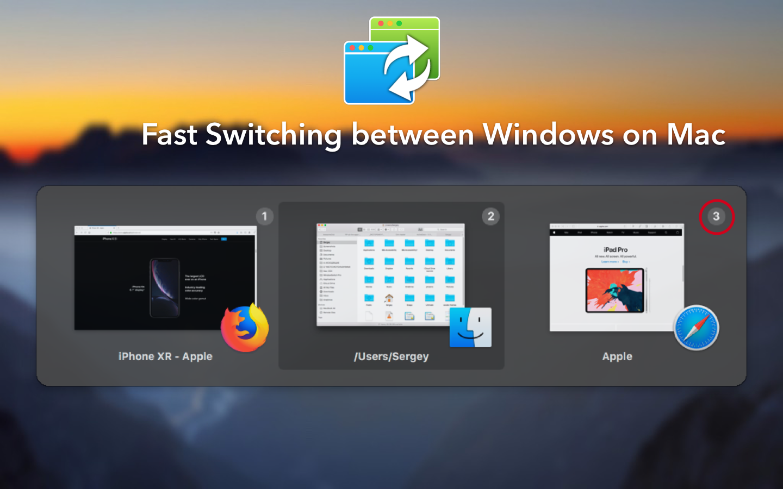 WindowSwitcher - Unique 3D Window Manager for macOS Image